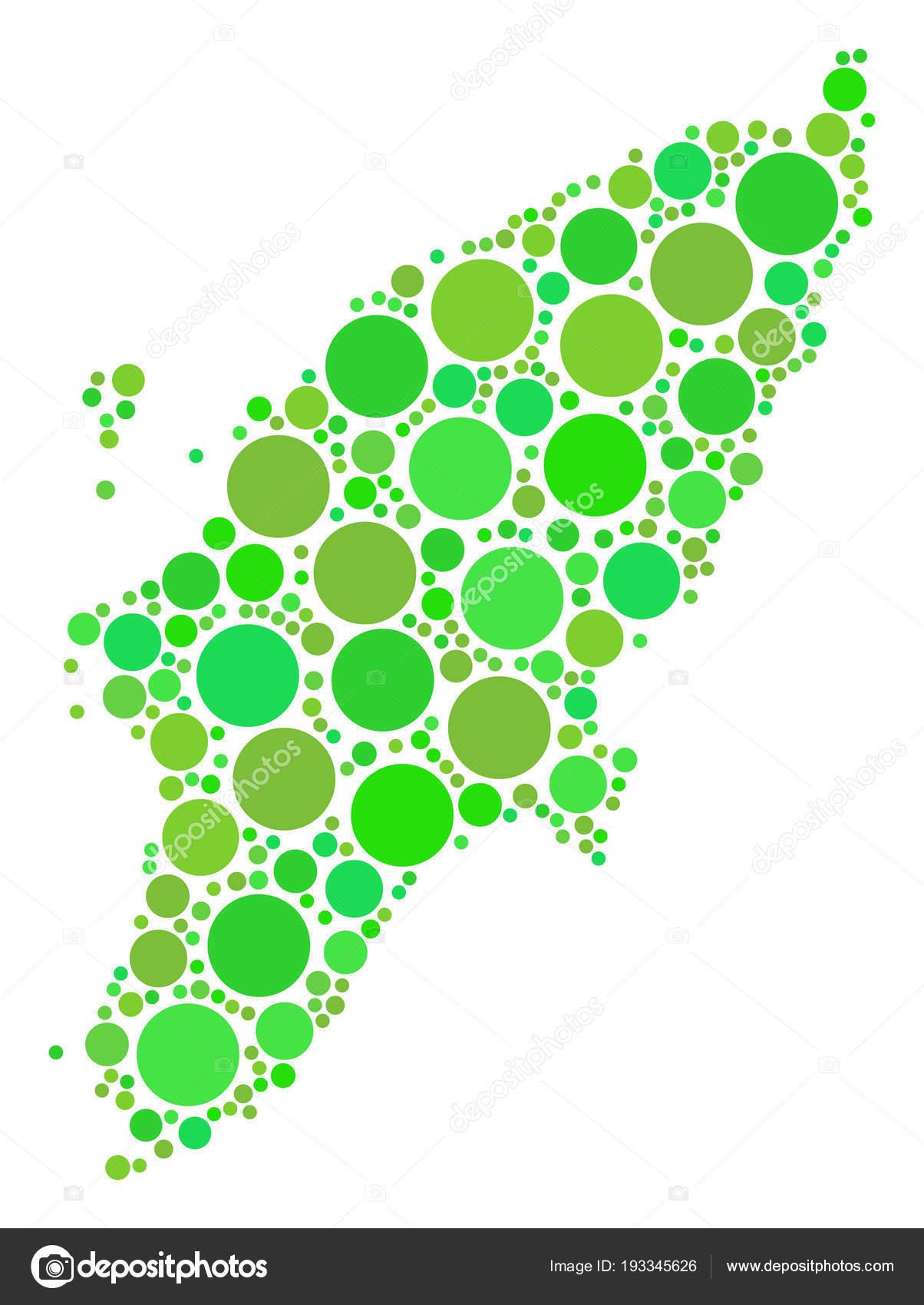Rhodes Island Greece Map.Greek Rhodes Island Map Composition Of Dots Stock Vector C Ahasoft