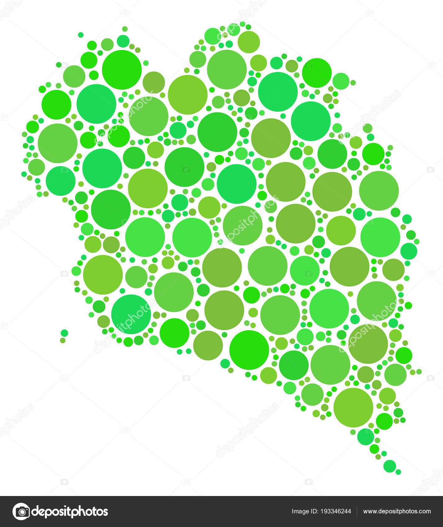 Koh Phangan Thailand Map.Koh Phangan Thai Island Map Mosaic Of Dots Stock Vector C Ahasoft