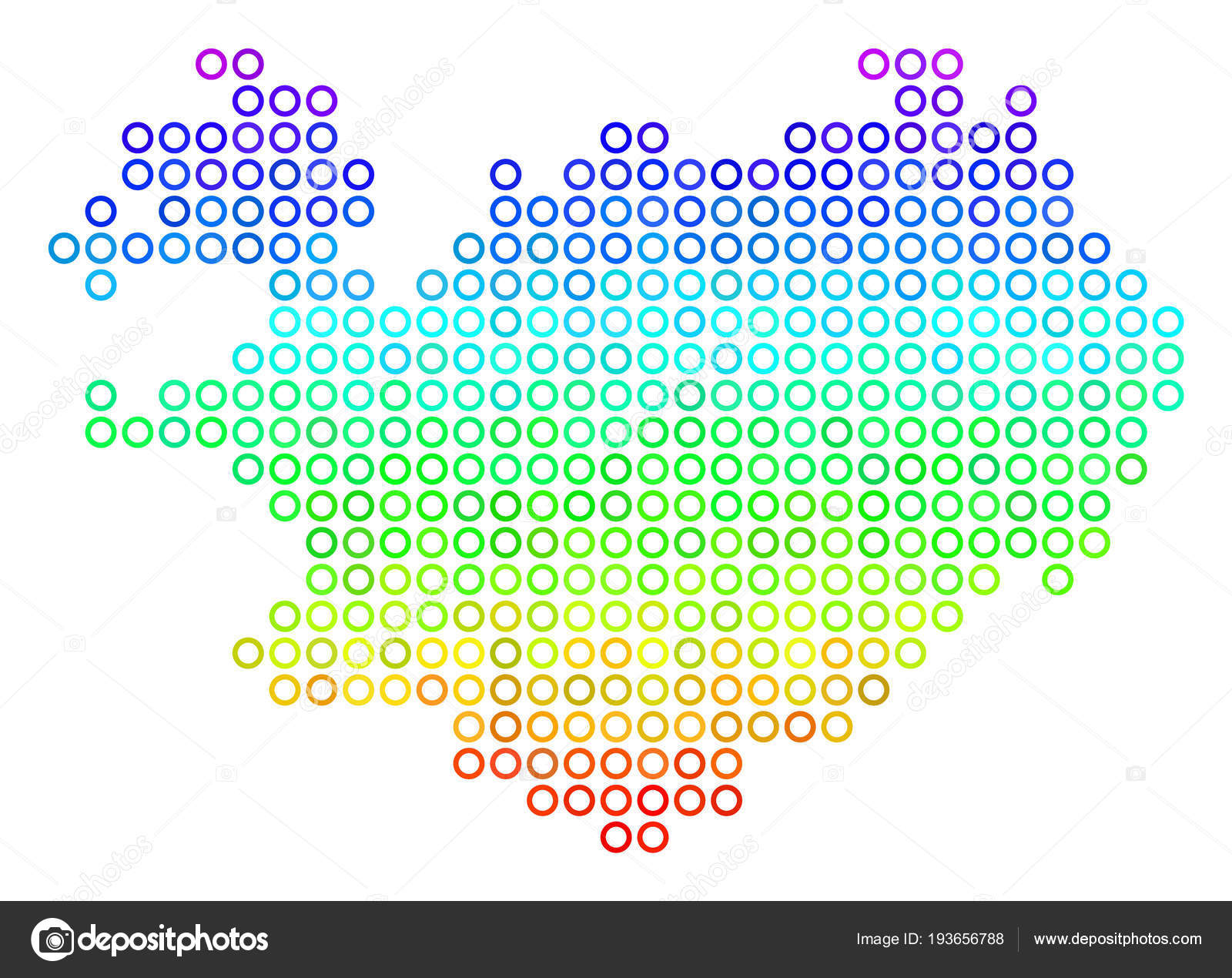 Bright Iceland Map — Stock Vector © ahasoft #193656788
