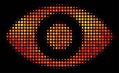 Bright Dot Eye Icon