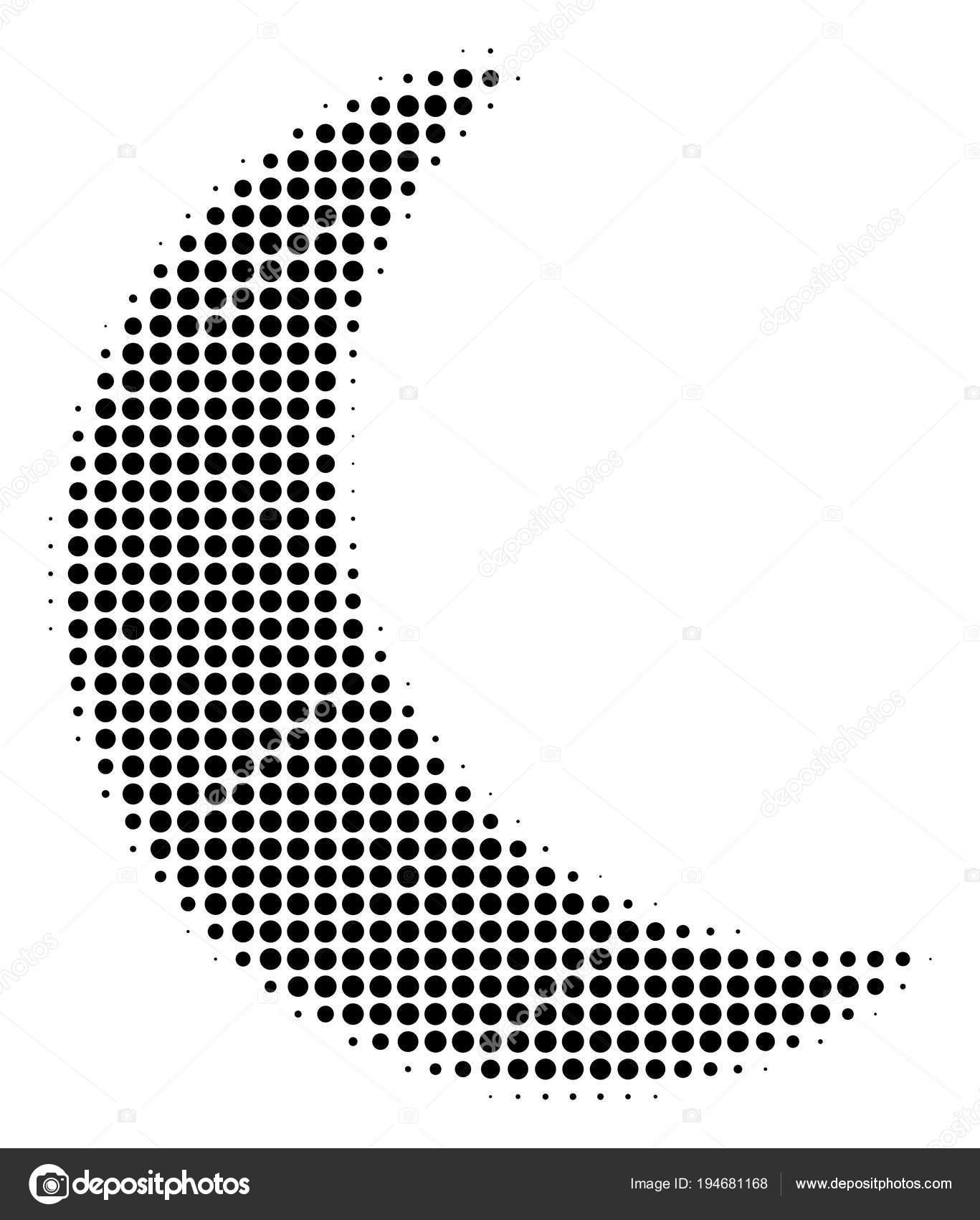 Black Pixel Moon Icon — Stock Vector © ahasoft #194681168