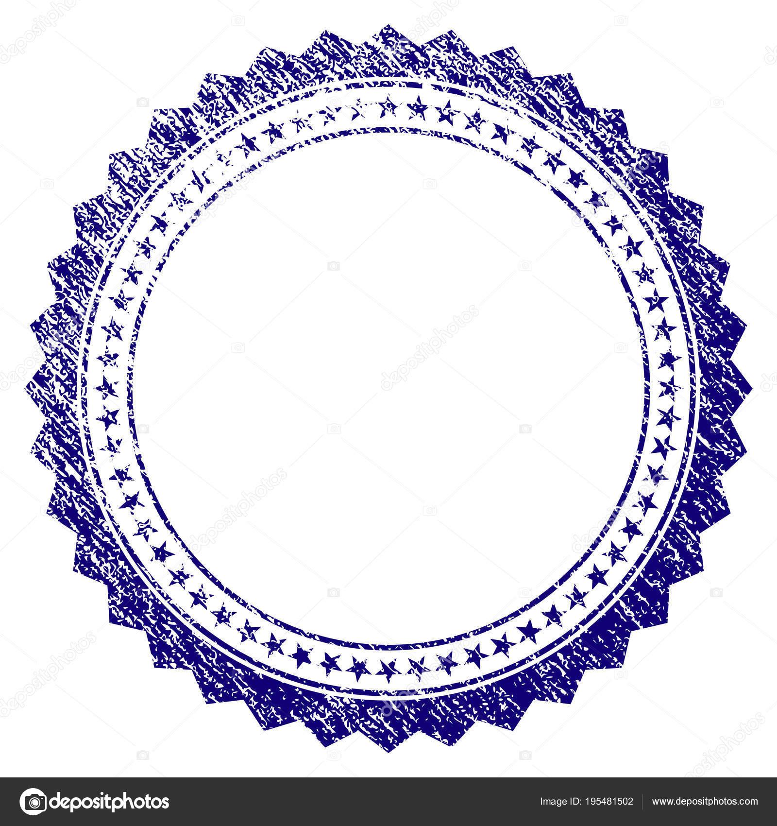 Grunge textura rosetón Circular marco estrella — Archivo Imágenes ...