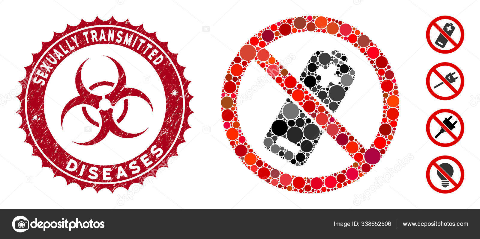 Vector Stock - Std (sexually transmitted diseases) acronym and stethoscope  icon. Clipart Illustration gg105512560 - GoGraph