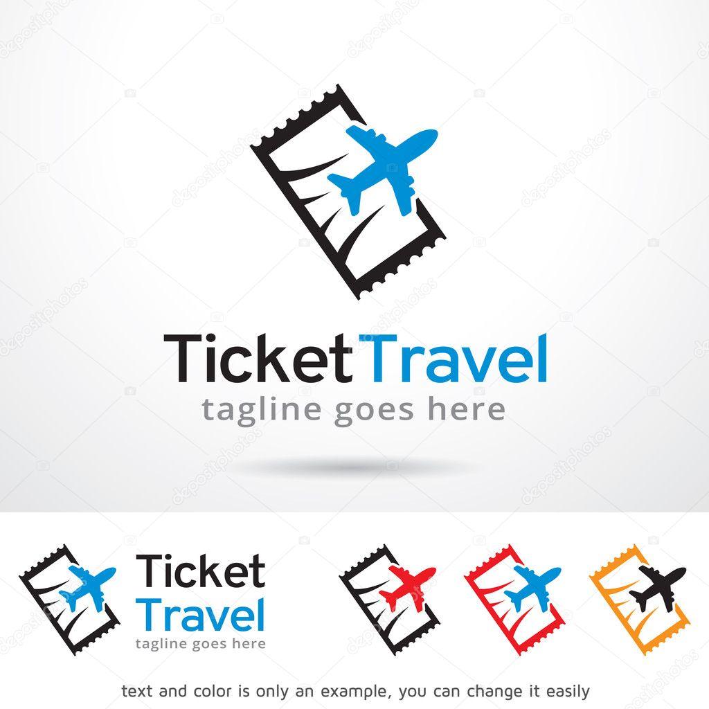 Boleto viaje plantilla diseño — Vector de stock © gunaonedesign ...