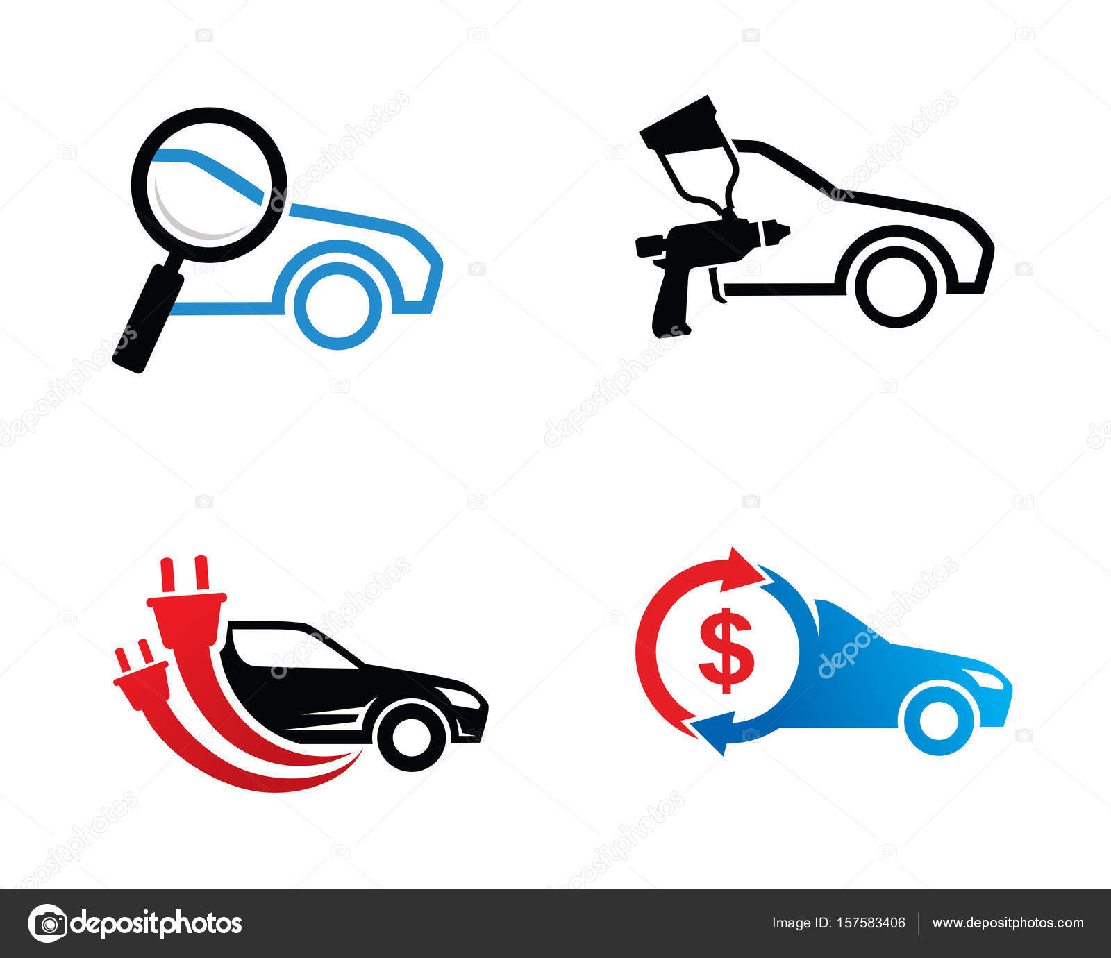 Coche insignia plantilla diseño Vector, emblema, concepto, símbolo ...