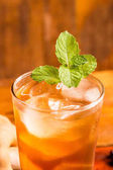 Lahodný sladký nápoj tamarind
