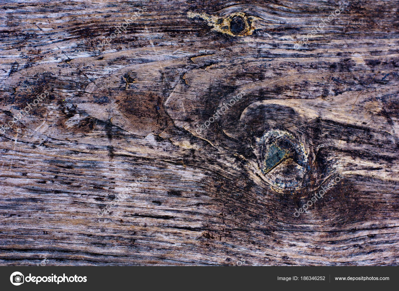 Rustic wooden fence texture background of natural brown and yell