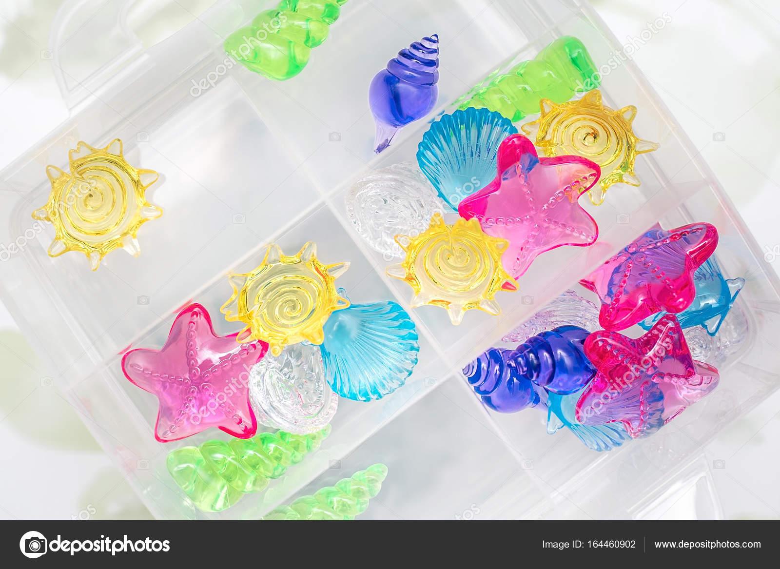 Coquilles Acryliques Dans Une Bo Te D Coration De L Aquarium