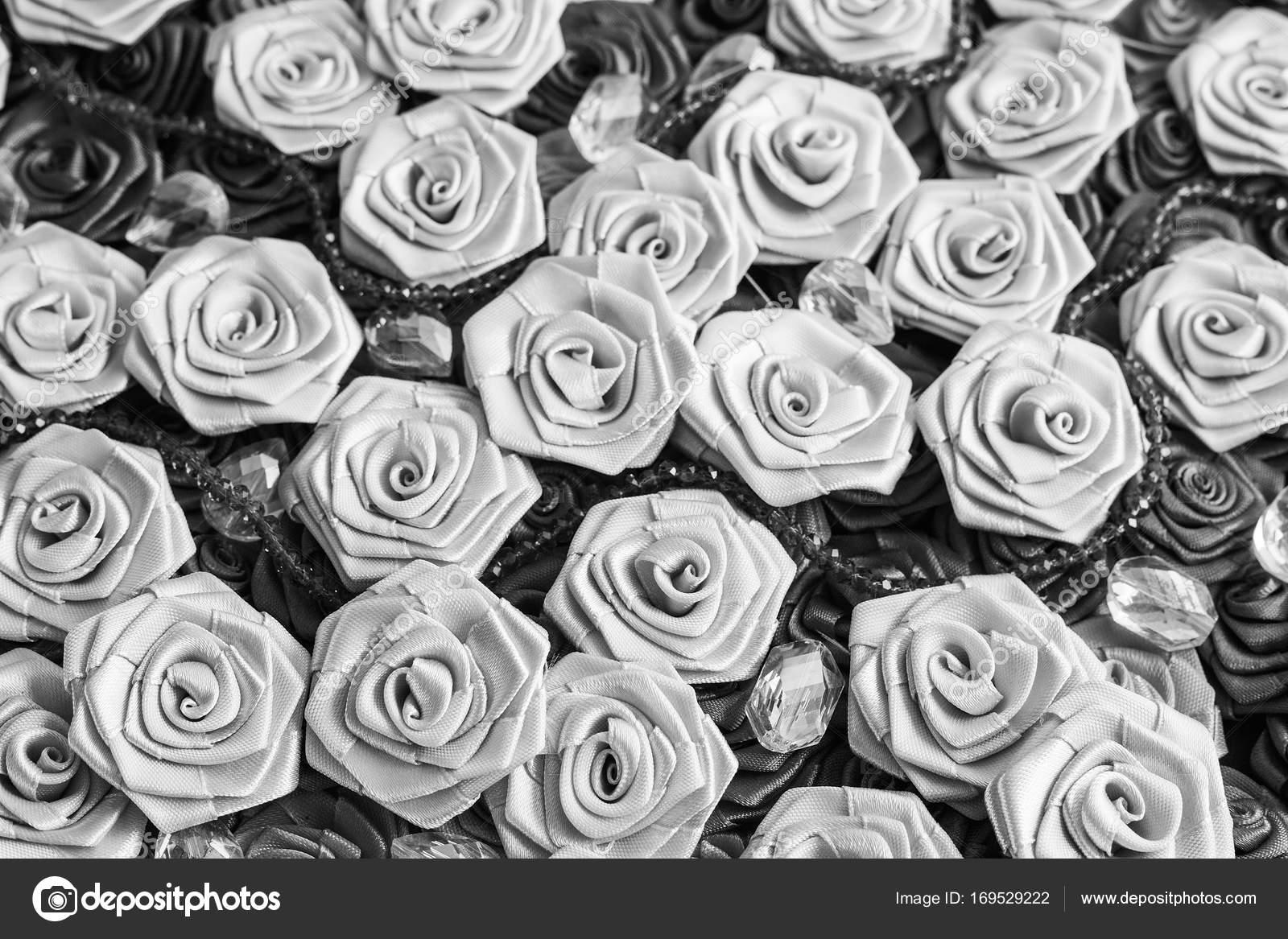 Succulent Tattoo Ideas Black And White Satin Roses Background Wedding Style Background Fashion Manufacturing Ideas Stock Photo C Fotomirta 169529222