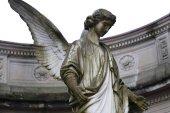 Fotografie Angel statue in Baden-Baden (Germany)