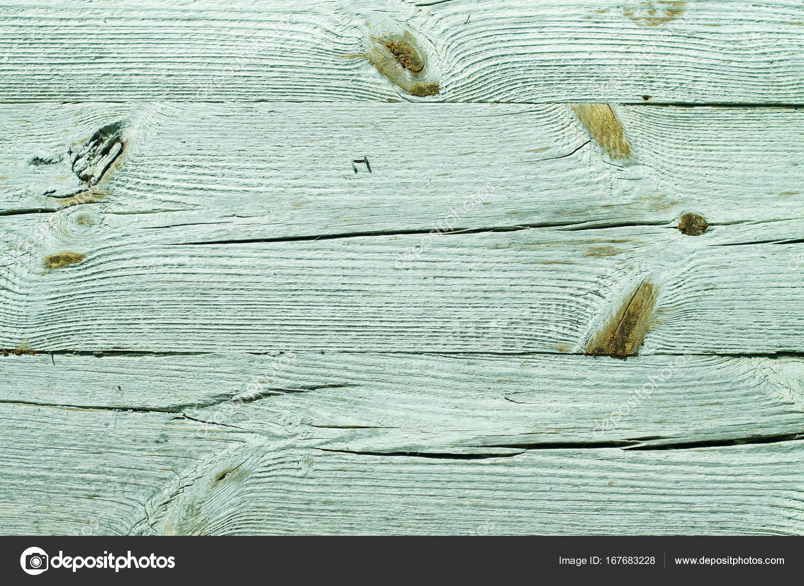 Alte Vintage Holz Textur Eine Gemalte Grune Blaue Wand