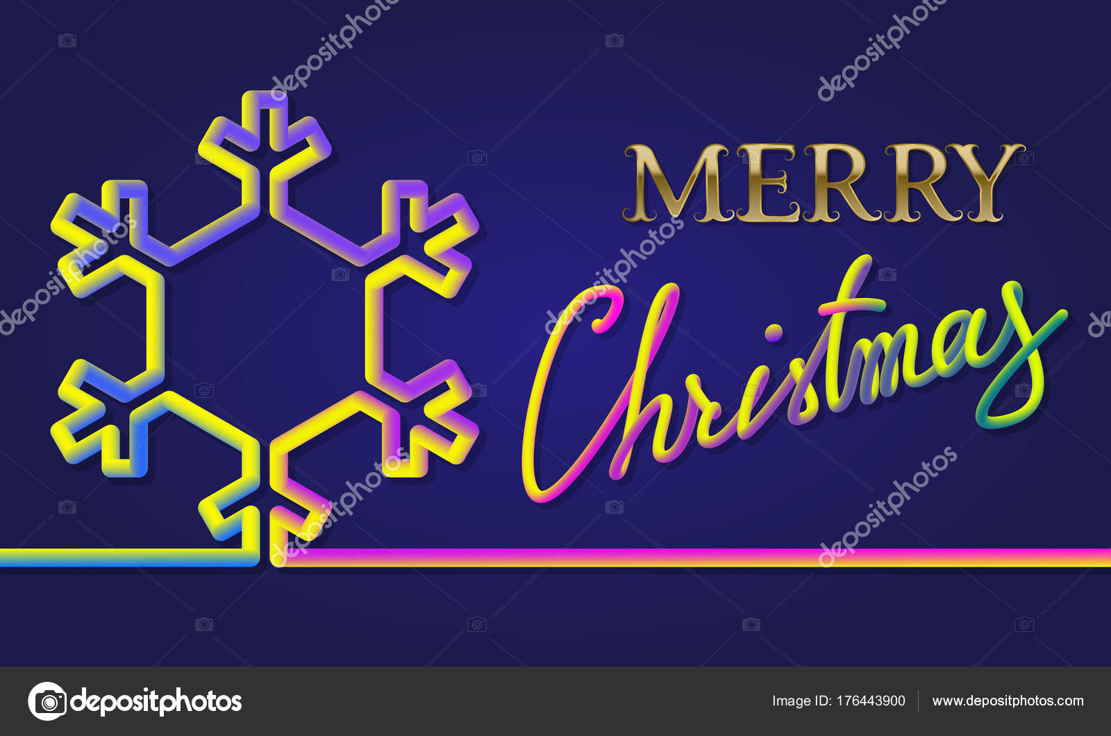 Frohe Weihnachten bunt Inschrift Schriftzug mit flüssigen Farben ...