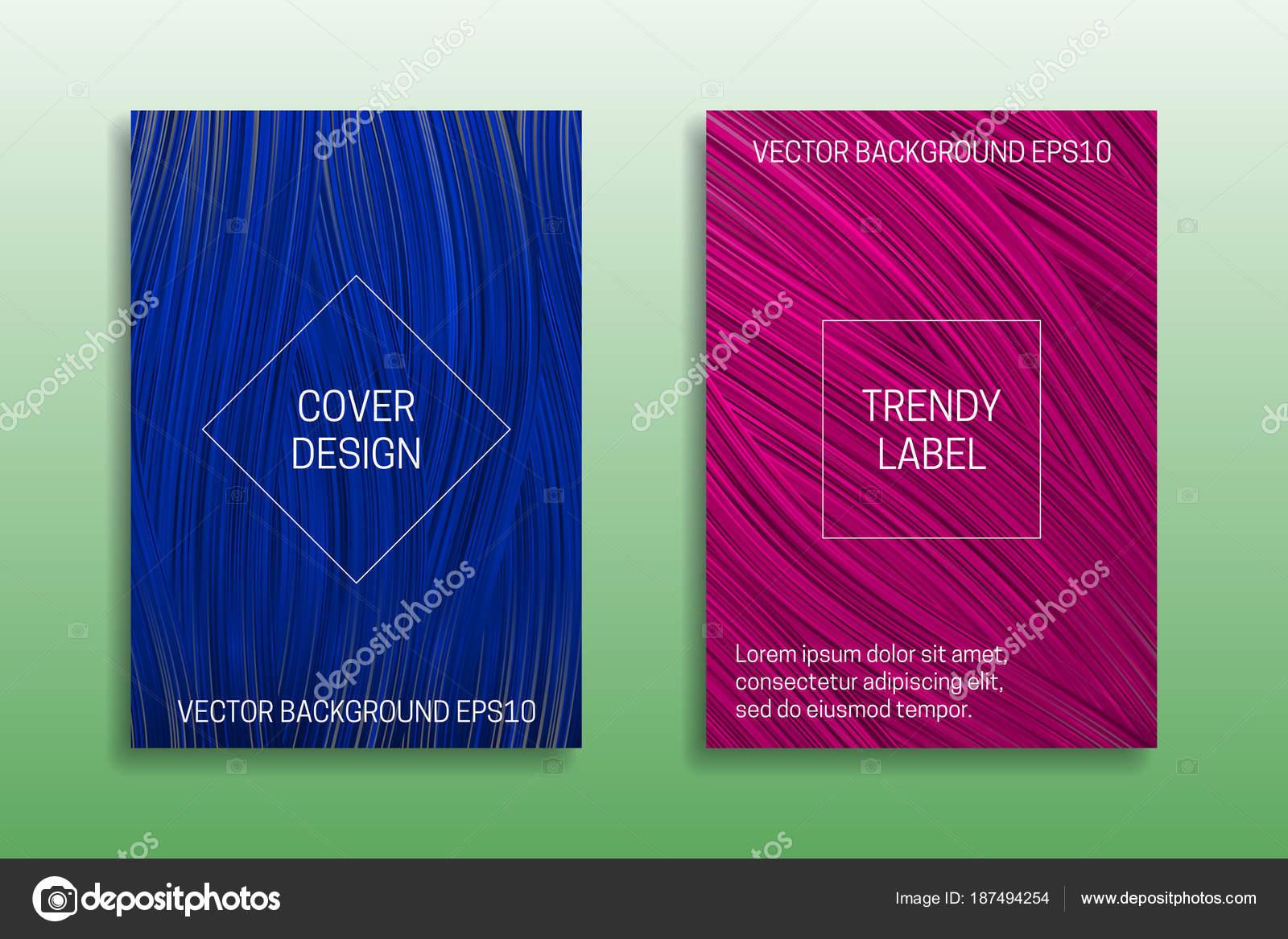 plantilla de folleto en tonos azules descargar vectores.html
