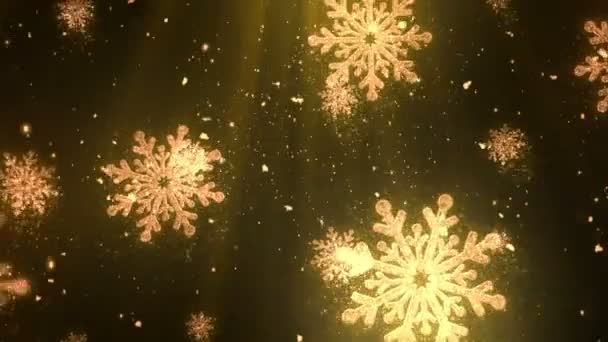 Christmas Holiday Glitters 5 Loopable Background