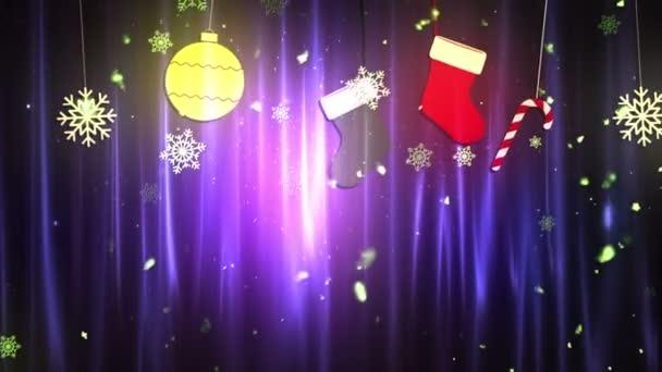 Weihnachten Stoffschmuck 3 loopable Hintergrund
