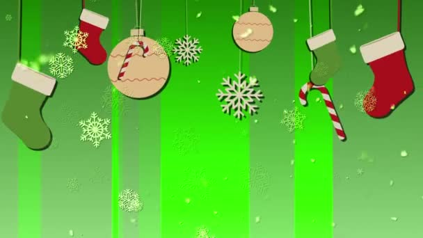 Christmas Bg 5 Loopable Background