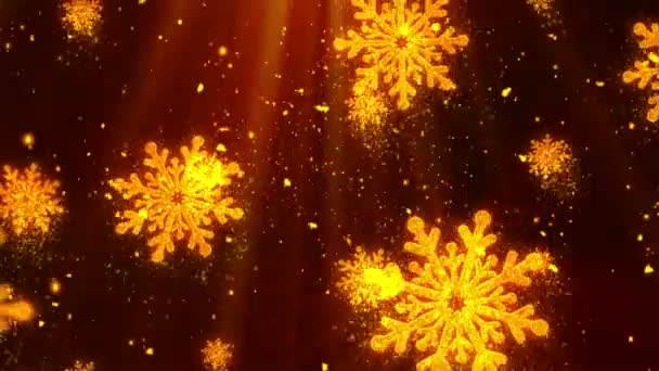 Christmas Holiday Glitters 4 Loopable Background