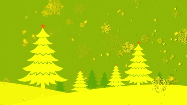 Christmas Landscape 3 Loopable Background