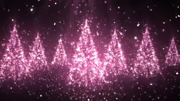 Christmas New Year Tree Glitters 5 Loopable Background