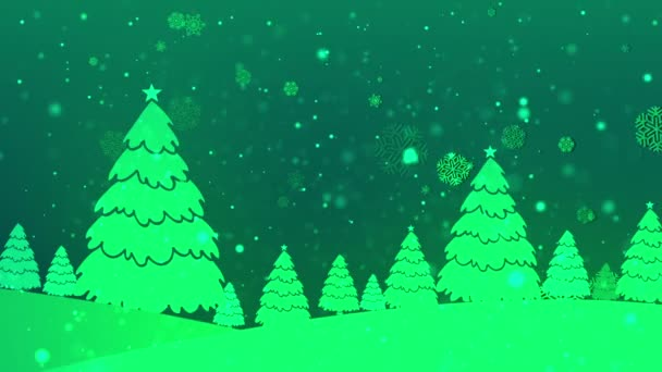 Christmas Retro 5 Loopable Background