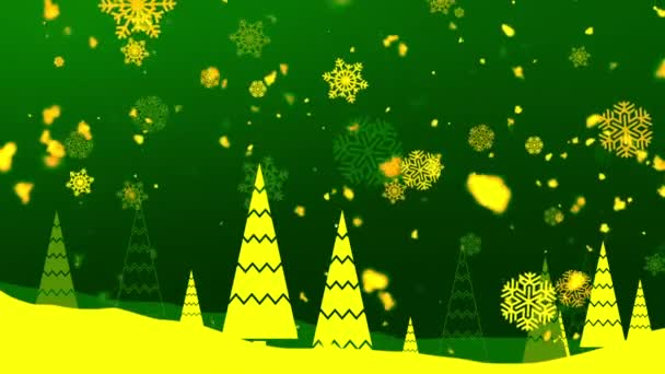 Weihnachten Schneeflocken 8 loopable Hintergrund