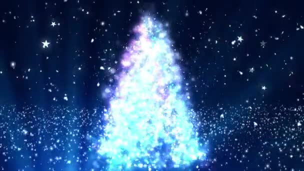 Christmas Tree Glitters 7 Loopable Background