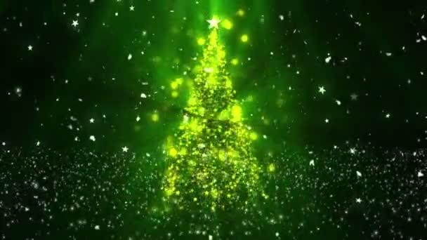 Christmas Tree Stars 2 Loopable Background