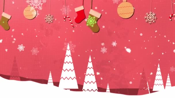 Christmas Vintage 4 Loopable Background