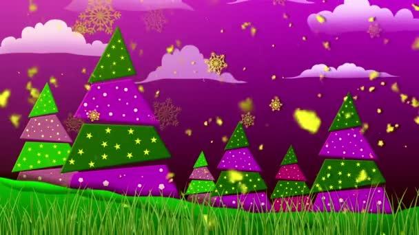 Retro Vánoce 3 Smyklihodné pozadí