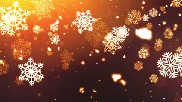 Holiday Snowflakes 7 Loopable Background