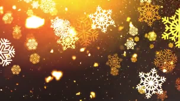 Holiday Snowflakes 8 Loopable Background