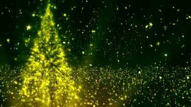 Vánoční stromeček třpytky 2