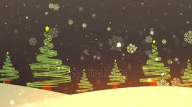 Christmas Tree Streaks 1