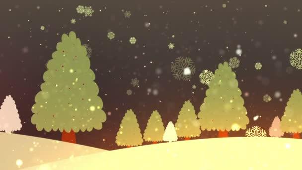 Christmas Tree Retro 1