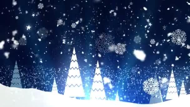 Christmas Tree Snowflakes 1