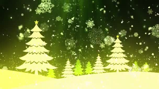 Christmas Tree Snow 1 Stockvideo Kreativorks 170745000