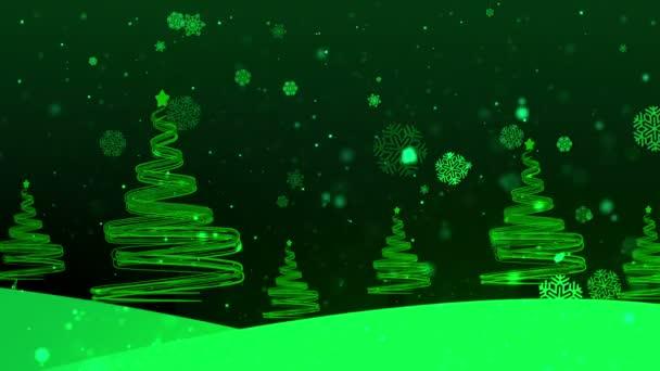 Christmas Tree Streaks 5