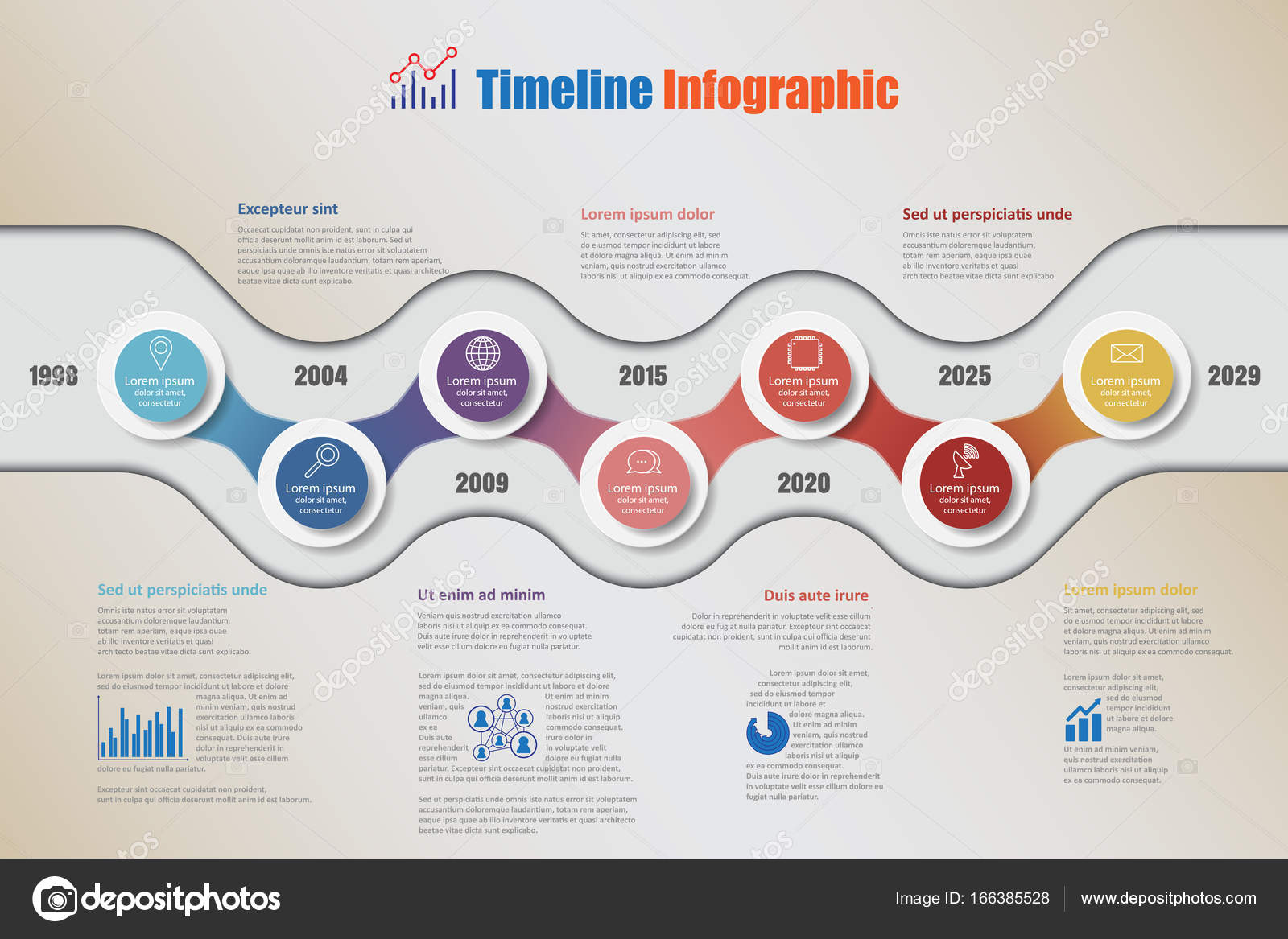 Business road map timeline infographic with 7 steps circle vector business road map timeline infographic with 7 steps circle designed for background elements diagram planning process web pages workflow digital technology ccuart Images