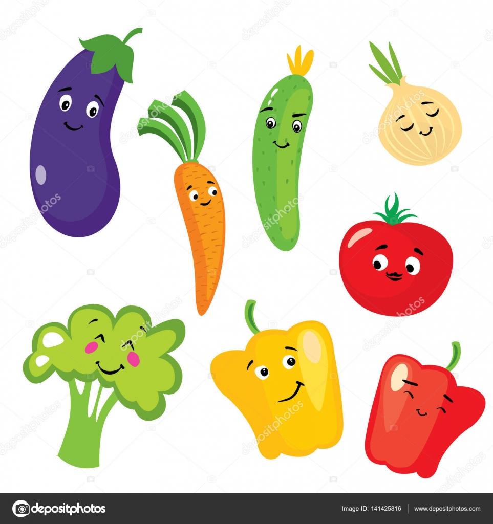 文字の形のかわいい野菜のセットです。ナス、トマト、キュウリ、タマネギ