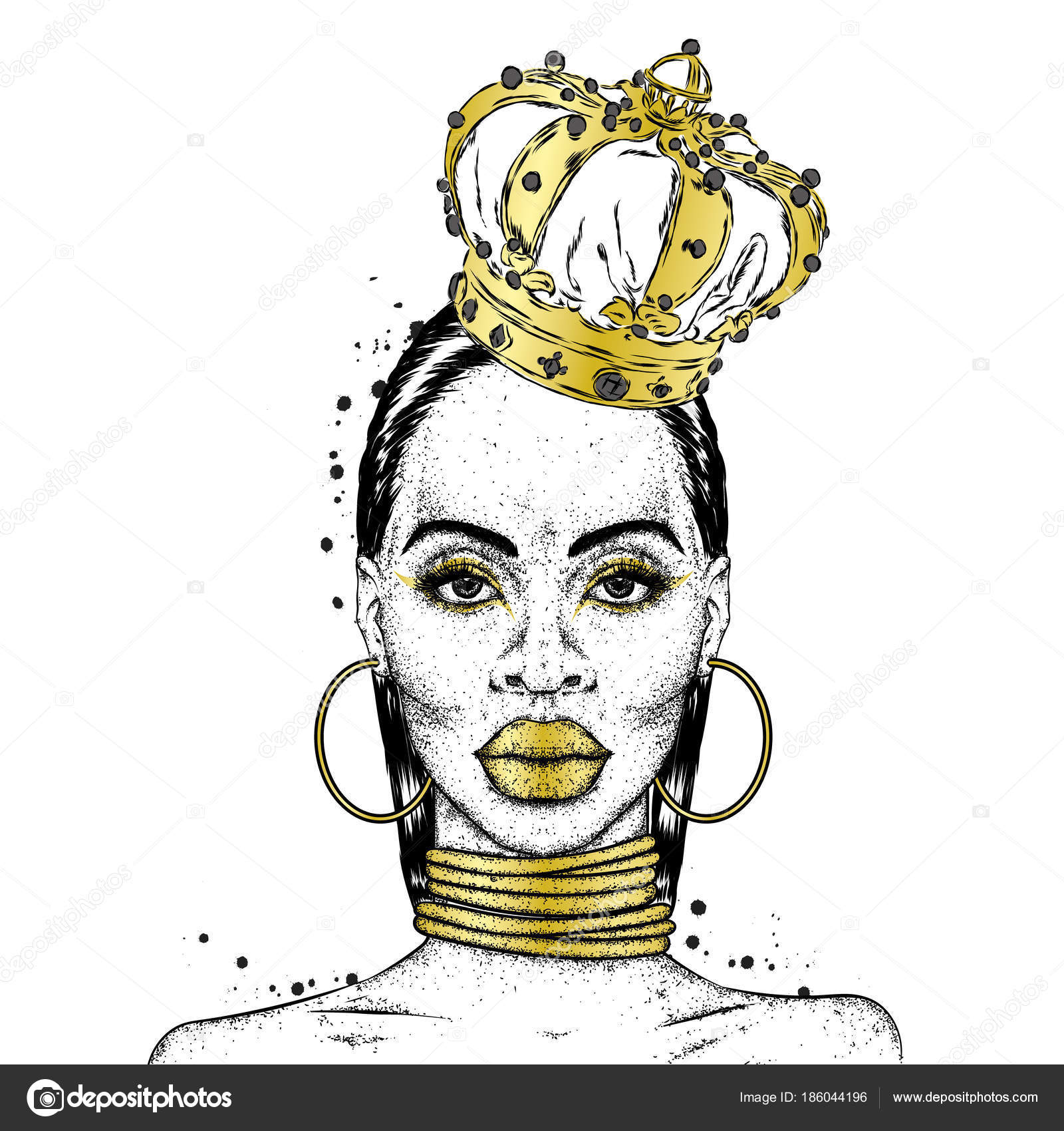 15 Best New Black Girl With Crown Drawing Internet