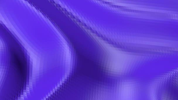 Abstraktní nízké poly mávat povrch jako krajinu nebo terénu. Fialové abstraktní geometrické vibrační prostředí nebo Blikající pozadí kreslené nízké poly populární moderní stylový 3d design 1
