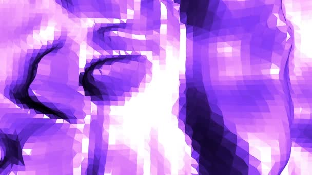 Fialové abstraktní nízké poly mávat povrch jako jednoduché pozadí. Fialové abstraktní geometrické vibrační prostředí nebo Blikající pozadí kreslené nízké poly populární moderní stylový 3d design