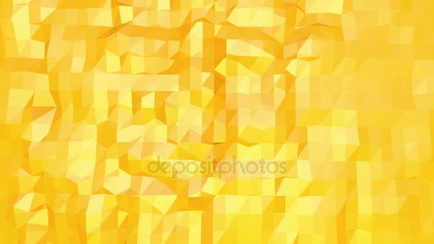 Sárga alacsony poly háttér oszcilláló. Absztrakt alacsony poly felülete, mint a digitális környezetben, elegáns alacsony poly design. Sokszögű mozaik háttér vertex, tüskék. Szabad hely