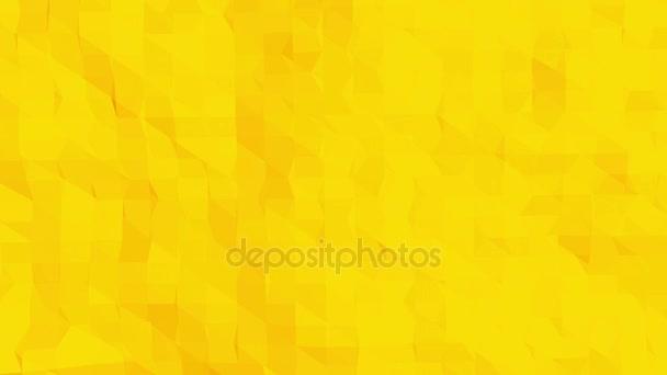 Sárga alacsony poly háttér oszcilláló. Absztrakt alacsony poly felülete, mint a futurisztikus környezetben, elegáns alacsony poly design. Sokszögű mozaik háttér vertex, tüskék. Modern 3D-s Tervezés1