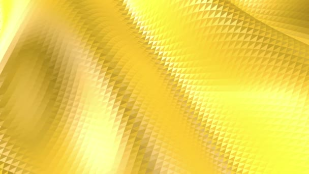 Yellow low poly background oscillating. Abstract low poly surface as glorious background in stylish low poly design. Polygonal mosaic background with vertex, spikes. Free space
