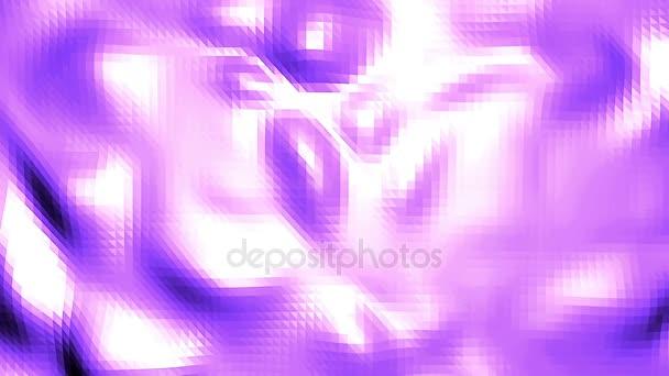 Fialové abstraktní nízké poly mávat povrch jako buňka krystalu. Fialové abstraktní geometrické vibrační prostředí nebo Blikající pozadí kreslené nízké poly populární moderní stylový 3d design