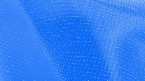 Fialové abstraktní nízké poly mávat povrch světlé pozadí. Fialové abstraktní geometrické vibrační prostředí nebo Blikající pozadí kreslené nízké poly populární moderní stylový 3d design