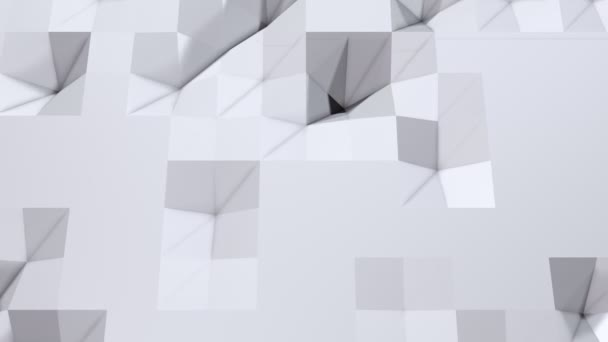 Simple Low Poly 3D Surface As High Tech Background Soft Geometric Of