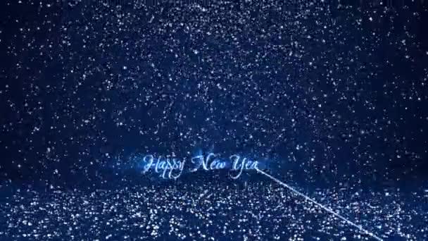 Sníh padat a usadit se na povrchu. Modrá zimní pozadí jako místo pro reklamu nebo logo, Vánoce nebo nový rok karty. Bezproblémové cyklických pozadí s Dof, kopie prostoru 6