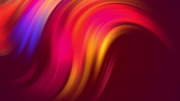 vícebarevné barevné barvy přechodu se plynule posouvají cyklicky ve smyčce. 4k krásné abstraktní pozadí s bezproblémovou smyčkou animace ve stylu pohybu designu. Křivky 9